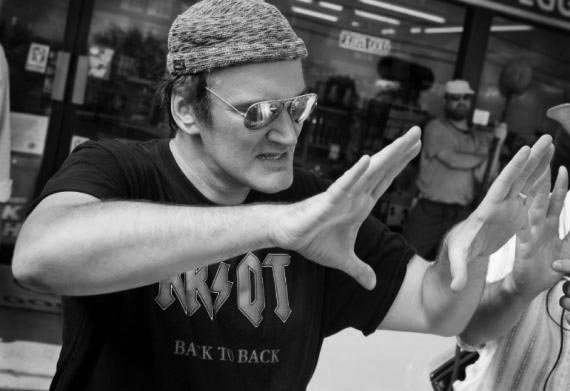 Quentin Tarantino On Set Repertory Cinema
