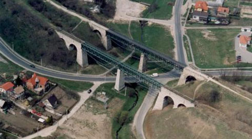 Biatorbágyi Viadukt Viadukt akkor
